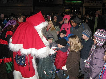 Santa in Long Eaton